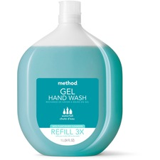 MTH 01181 Method Products Waterfall Gel Hand Wash Refill MTH01181