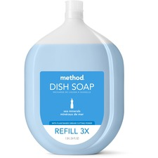 MTH 01315 Method Products Sea Minerals Dish Soap Refill MTH01315
