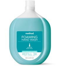 MTH 01366 Method Products Waterfall Foaming Hand Wash Refill MTH01366