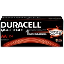 DUR QU1500BKDCT Duracell High-density Core Quantum AA Batteries DURQU1500BKDCT