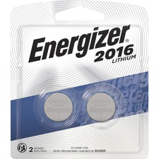 EVE 2016BP2CT Energizer 2016 3V Watch/Electronic Batteries EVE2016BP2CT