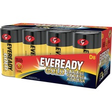 EVE A958CT Energizer Eveready Gold Alkaline D Batteries EVEA958CT