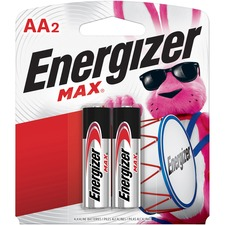 EVE E91BP2CT Energizer Max Alkaline AA Batteries EVEE91BP2CT
