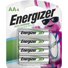 EVE NH15BP4CT Energizer Recharge NiMH AA Batteries EVENH15BP4CT