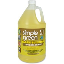 SMP 11201CT Simple Green Clean Bldg Carpet Cleaner Concentrate SMP11201CT