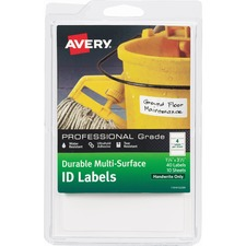 AVE 61522 Avery Professional Grade Durable ID Labels AVE61522