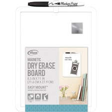 BDUCXT43 - The Board Dudes Plastic Frame Magnetic Dry Erase Board