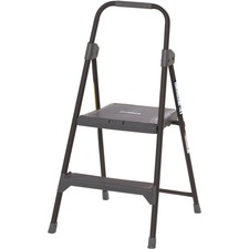 DAD BXL426002 Louisville Ladders 2' Steel Domestic Step Stool DADBXL426002