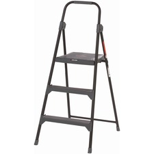 DAD BXL426003 Louisville Ladders 3' Steel Type II Step Stool DADBXL426003