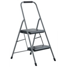 DAD BXL436002 Louisville Ladders 2' Steel Domestic Step Stool DADBXL436002