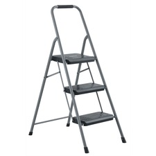 DAD BXL436003 Louisville Ladders 3' Steel Domestic Step Stool DADBXL436003