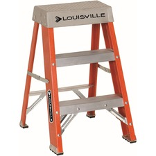 DAD FS1502 Louisville Ladders 2' Fiberglass Step Ladder DADFS1502
