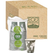 ECO EPBHC12WACT Eco-Products World Art Hot Drink Cups ECOEPBHC12WACT