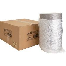 "Genuine Joe Round Aluminum Food Container Set - 9"" (228.60 mm) Diameter Food Container, Lid - Aluminum - Cooking, Serving - Silver"