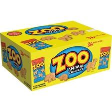 KEB 10022 Keebler Zoo Animal Crackers KEB10022