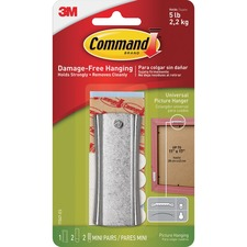 MMM 17047ES 3M Command Sticky Nail Sawtooth Picture Hanger Kit MMM17047ES
