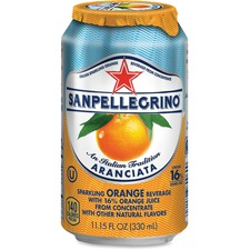 NLE 041508433457 Nestle Italian Sparkling Orange Beverage NLE041508433457