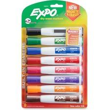 SAN 1944741 Sanford Eraser Cap Magnetic Dry Erase Marker Set SAN1944741