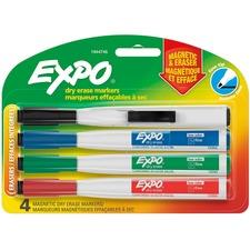 SAN 1944746 Sanford Eraser Cap Fine Magnetic Dry Erase Markers SAN1944746