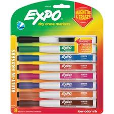 SAN 1944748 Sanford Eraser Cap Fine Magnetic Dry Erase Markers SAN1944748