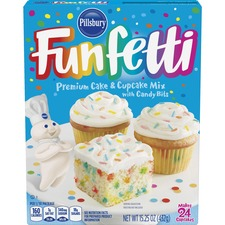 FOL 60133 Folgers Pillsbury Happy Birthday Funfetti Cake Mix FOL60133
