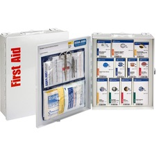 FAO 90578 First Aid Only Class A 94-pc SC First Aid Cabinet FAO90578