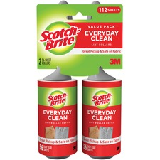 MMM 836RS56TPPCT 3M Scotch-Brite Lint Roller MMM836RS56TPPCT