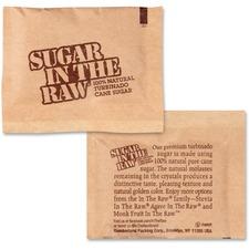 FOL 50390 Folgers Sugar In The Raw Turbinado Cane Sugar FOL50390