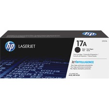 HP 17A (CF217A) Original Toner Cartridge - Single Pack - Laser - Standard Yield - 1600 Pages - Black - 1 Each