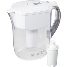CLO 35565 Clorox Brita 10-Cup Grand Water Filter Pitcher CLO35565