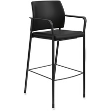 HON SCS2FEUR10B HON Accommodate Fixed Arms Cafe Height Stool HONSCS2FEUR10B