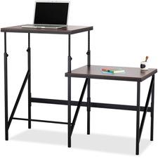 SAF1956WL - Safco Bi-Level Stand/Sit Desk