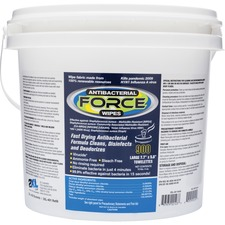 TXL L400 2XL Antibacterial Force Wipes Dispensing Bucket TXLL400