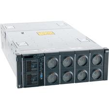 Lenovo System x x3850 X6 6241E1U 4U Rack Server - 2 x Intel Xeon E7-4820 v4 Deca-core (10 Core) 2 GHz - 64 GB Installed TruDDR4 - Serial ATA, 12Gb/s SAS Controller - 0, 1, 10 RAID Levels - 2 x 900 W