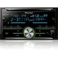 Pioneer FH-X731BT Car CD/MP3 Player - 56 W RMS - iPod/iPhone Compatible - Double DIN