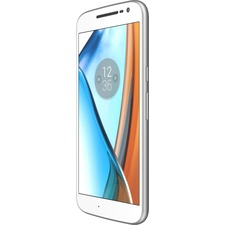 "Motorola Moto G? 32 GB Smartphone - 4G - 5.5"" LCD 1920 x 1080 Full HD Touchscreen - Qualcomm Snapdragon 617 Octa-core (8 Core) 1.50 GHz - 2 GB RAM - 13 Megapixel Rear/5 Megapixel Front - Android 6.0.1 Marshmallow - SIM-free - White"