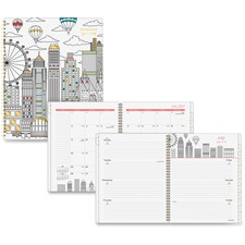 AAG1017905A - At-A-Glance Cityscape Academic Weekly/Monthly Planner