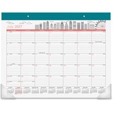 AAGD1017704A - At-A-Glance Paint the Town Academic Monthly Desk Pad