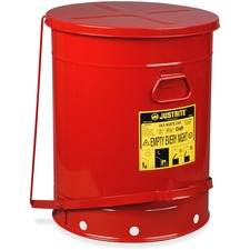 JUS 09700 Just Rite 21-Gallon Oily Waste Can JUS09700