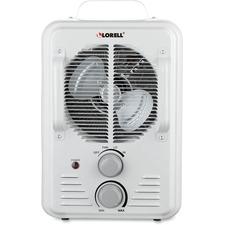 LLR 99842 Lorell Portable Ceramic Heater Fan LLR99842