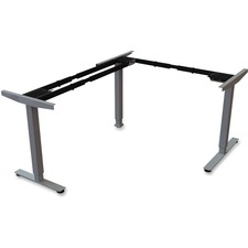 LLR 99850 Lorell Sit/Stand Desk Black Third-leg Add-on Kit LLR99850