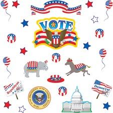 TCR 1854 Teacher Created Res. Election Bulletin Brd Display TCR1854