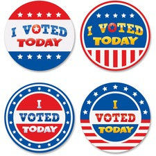 TCR 5898 Teacher Created Res. I Voted Today Wear'Em Badges TCR5898