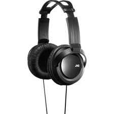 JVC HA-RX330 Headphone - Stereo - Wired - 12 Hz 22 kHz - Nickel Plated Connector - Over-the-head - Binaural - Circumaural - 8.2 ft Cable