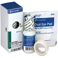 FAO FAE6022 First Aid Only SC Refill Eye Wash Kit FAOFAE6022