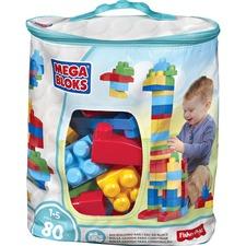 MBL DCH63 Mega Bloks Big Building Blocks Bag Set MBLDCH63