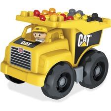 MBL DCJ86 Mega Bloks CAT Dump Truck MBLDCJ86