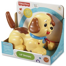 FIP H9447 Fisher Price Lil' Snoopy Plastic Puppy FIPH9447