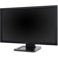 "Viewsonic TD2421 24"" LCD Touchscreen Monitor - 16:9 - 5 ms - Optical - Multi-touch Screen - 1920 x 1080 - Full HD - 16.7 Million Colors - 50,000,000:1 - 250 cd/m² - LED Backlight - Speakers - DVI - HDMI - USB - VGA - Black - EPEAT Silver - 3 Year"