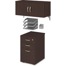 Bush Business Furniture Office-in-an-Hour Storage Unit Kit